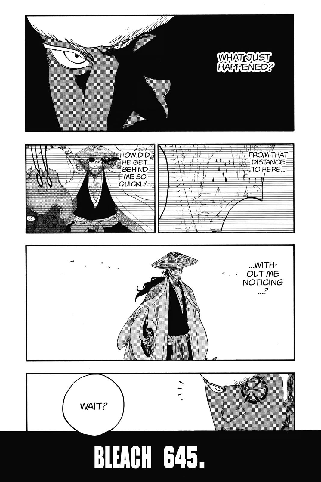 Bleach, Chapter 645 image 001