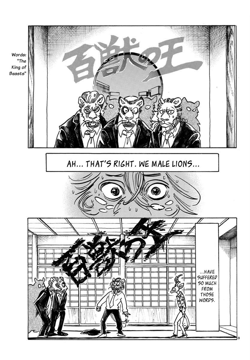 Beastars Manga, Chapter 163 image 009
