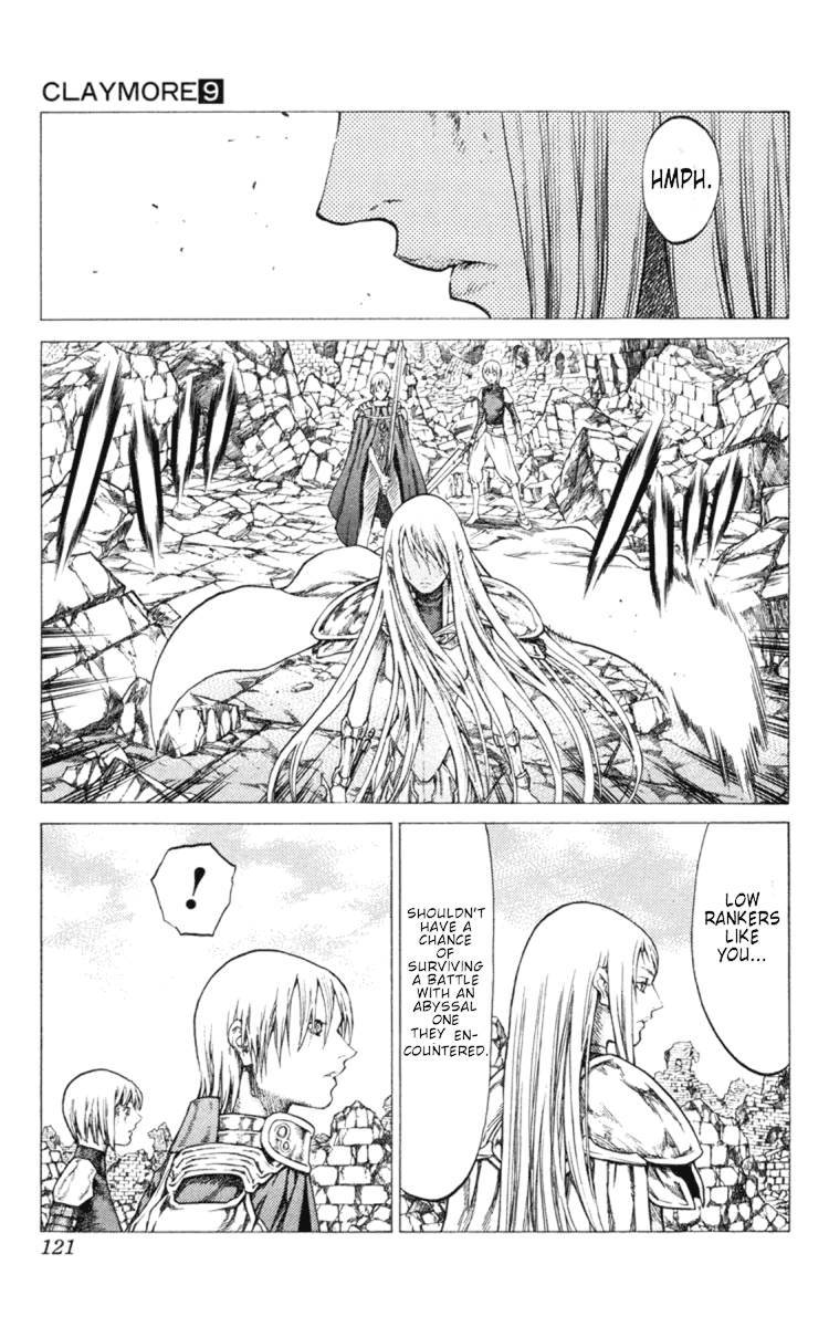 Claymore, Chapter 49 image 024