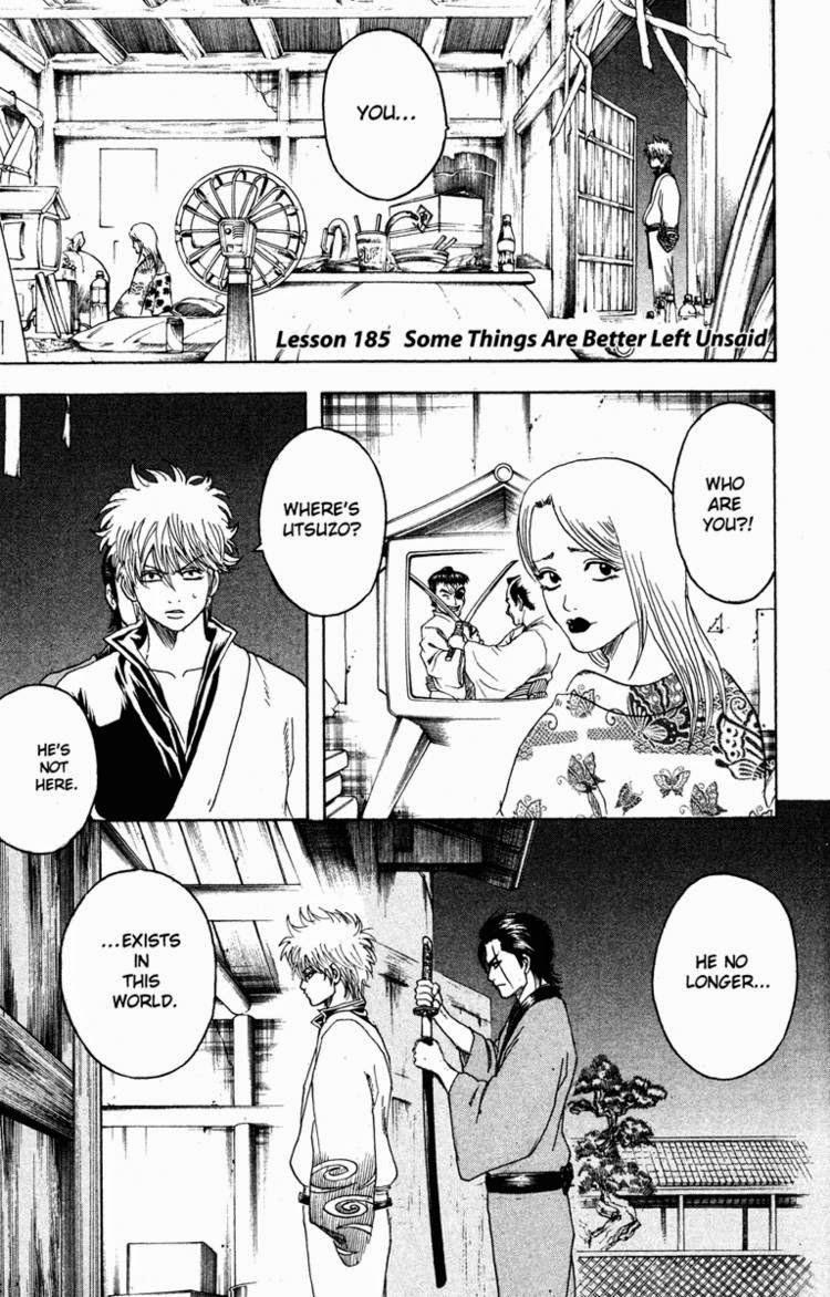 Gintama Chapter, 185 image 009