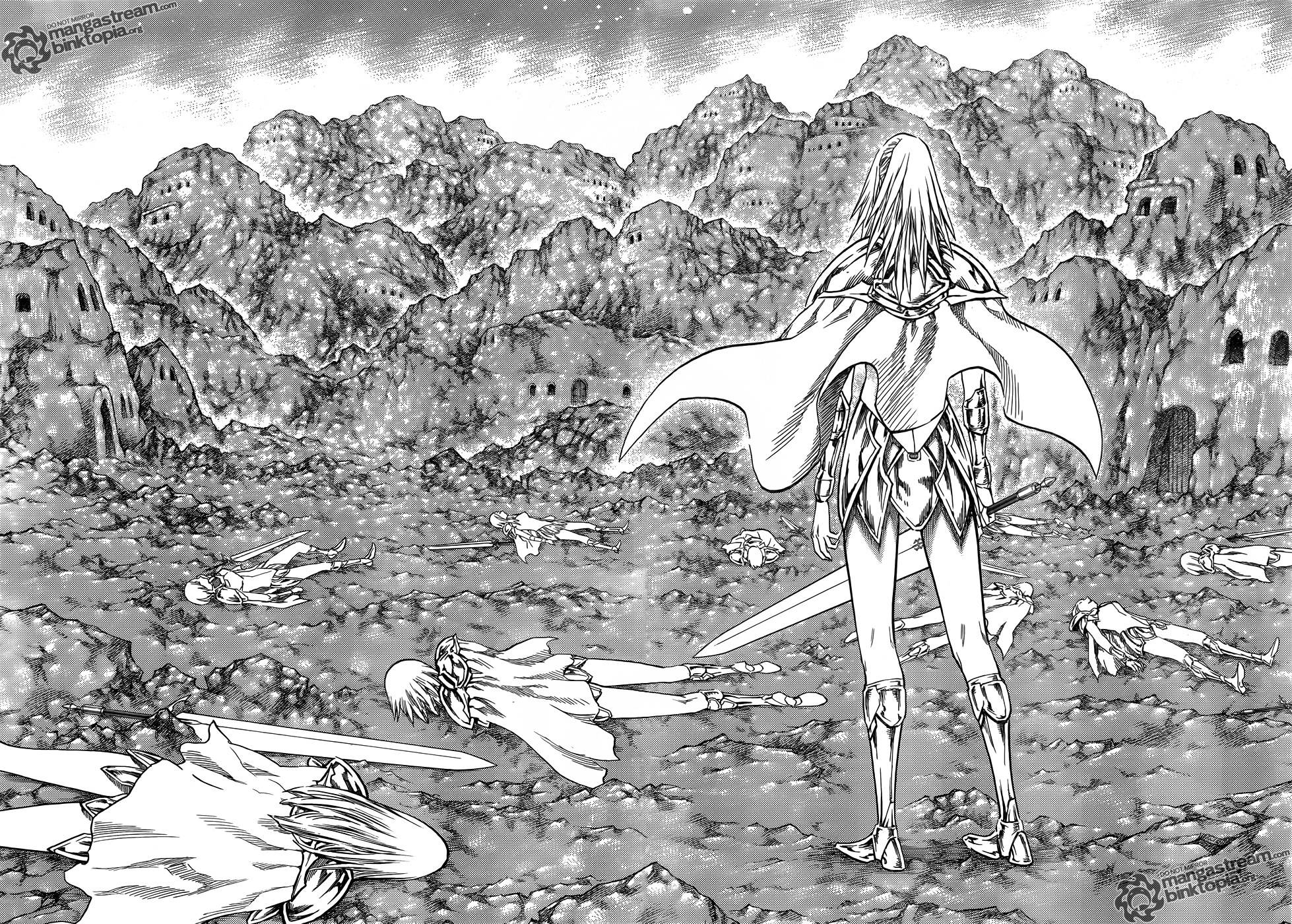 Claymore, Chapter 106 image 016