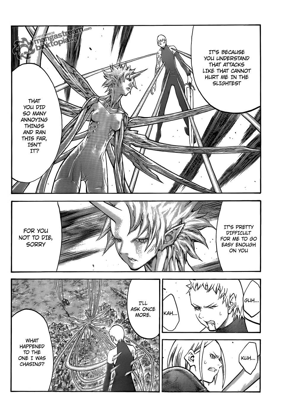 Claymore, Chapter 105 image 010