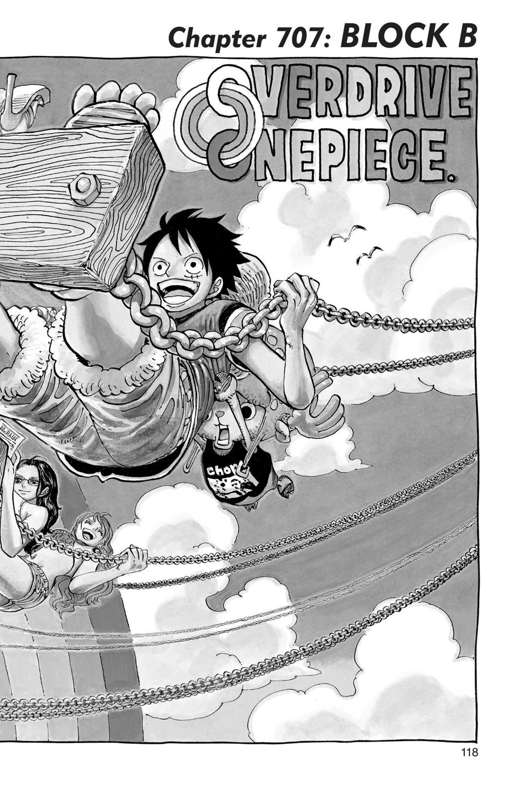 One Piece, Chapter 707 image 001