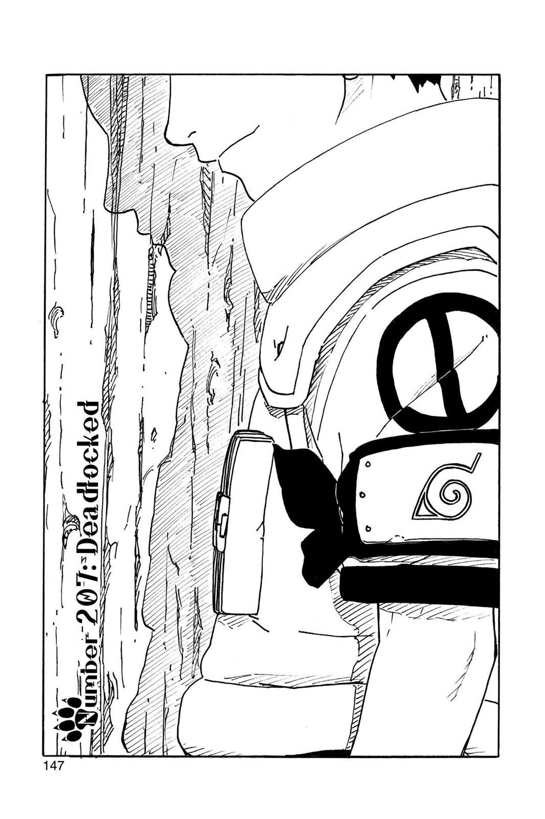 Naruto, Chapter 207 image 001