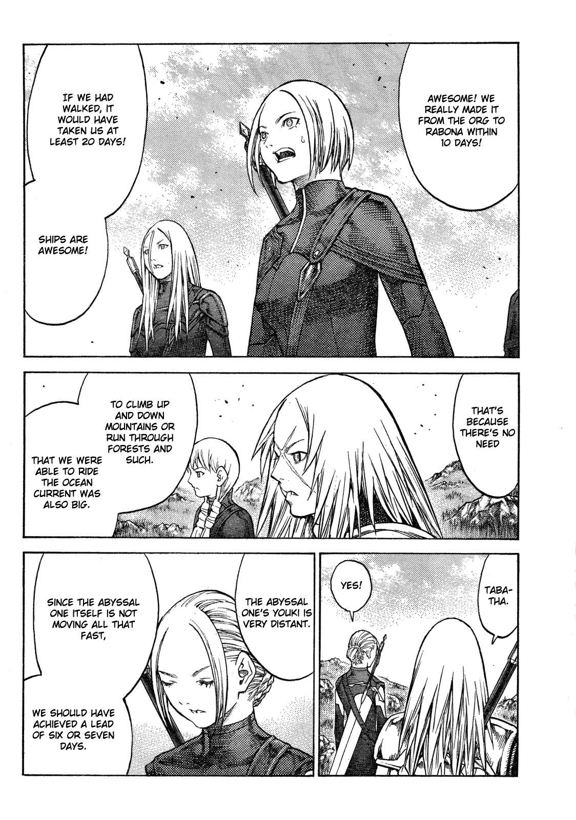 Claymore, Chapter 128 image 003