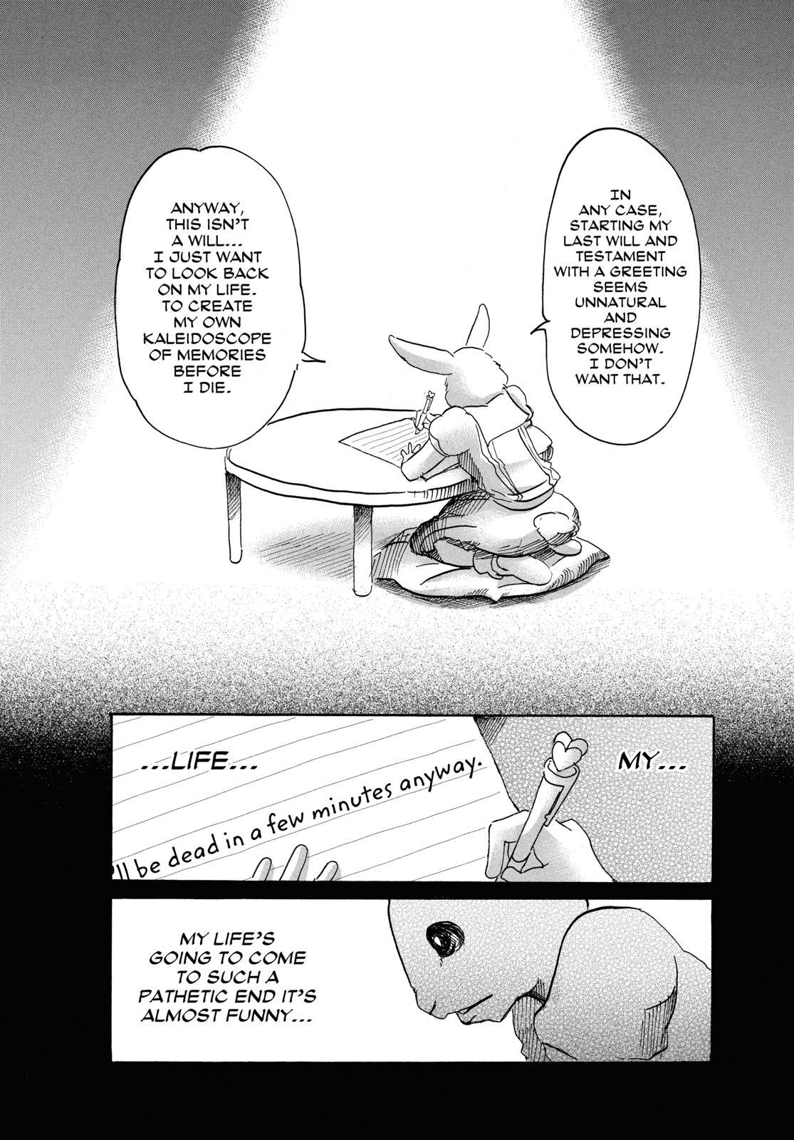 Beastars Manga, Chapter 38 image 003