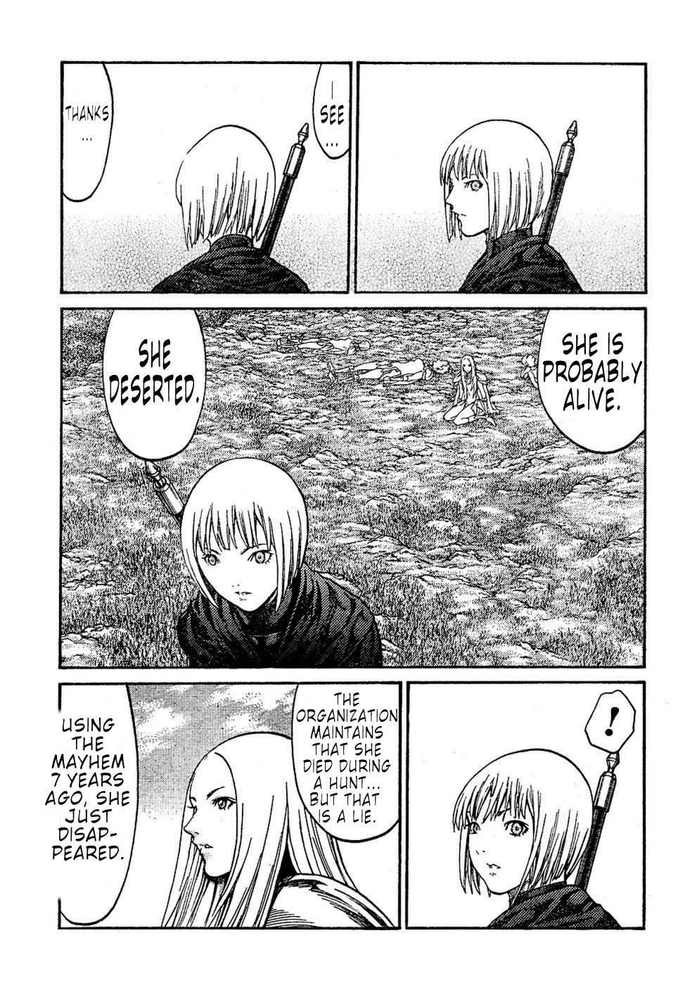 Claymore, Chapter 72 image 017