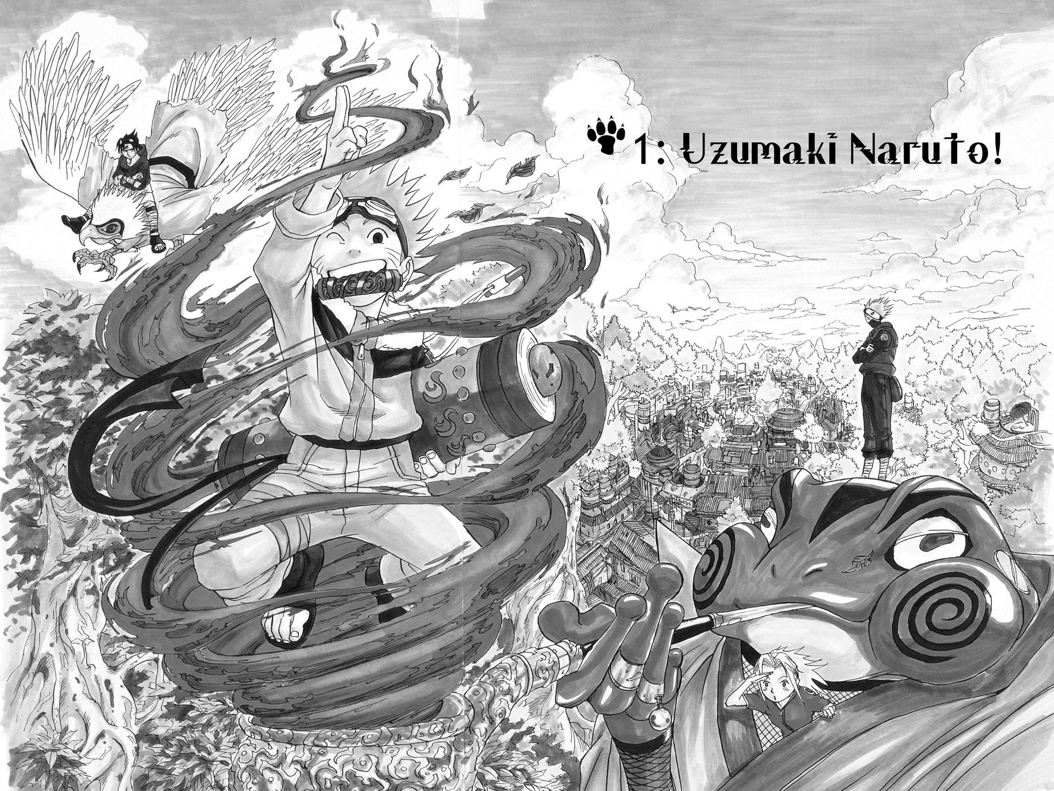 Naruto, Chapter 1 image 007