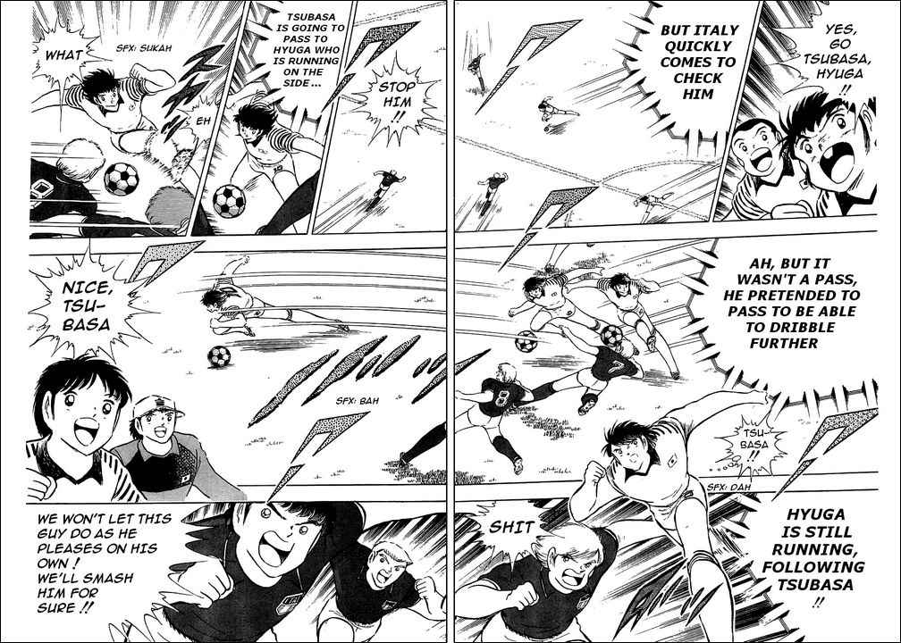 Captain Tsubasa, Chapter 91 image 036