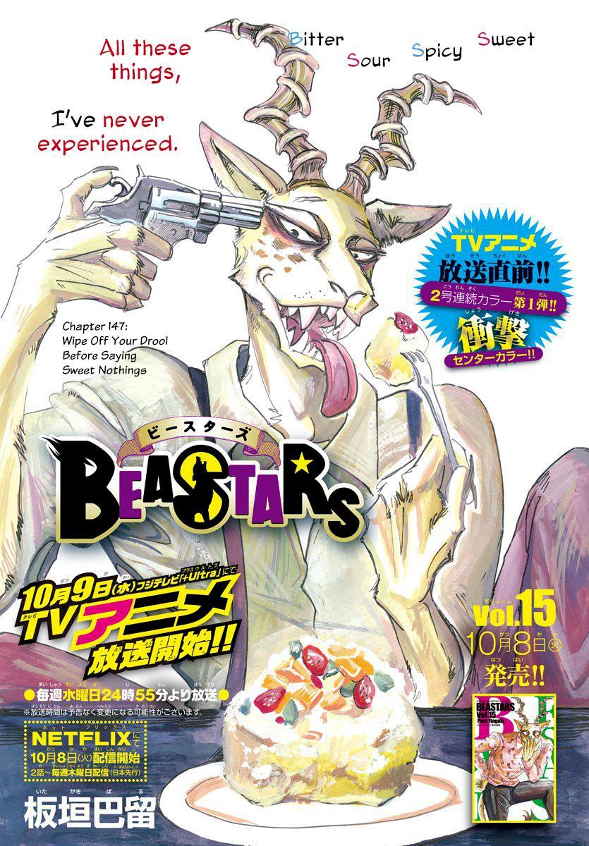 Beastars Manga, Chapter 147 image 001