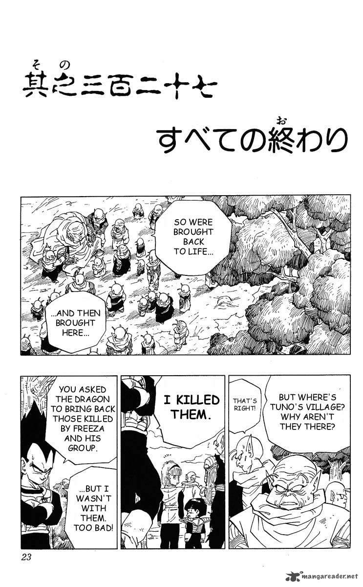 Dragon Ball, Chapter 327 image 001