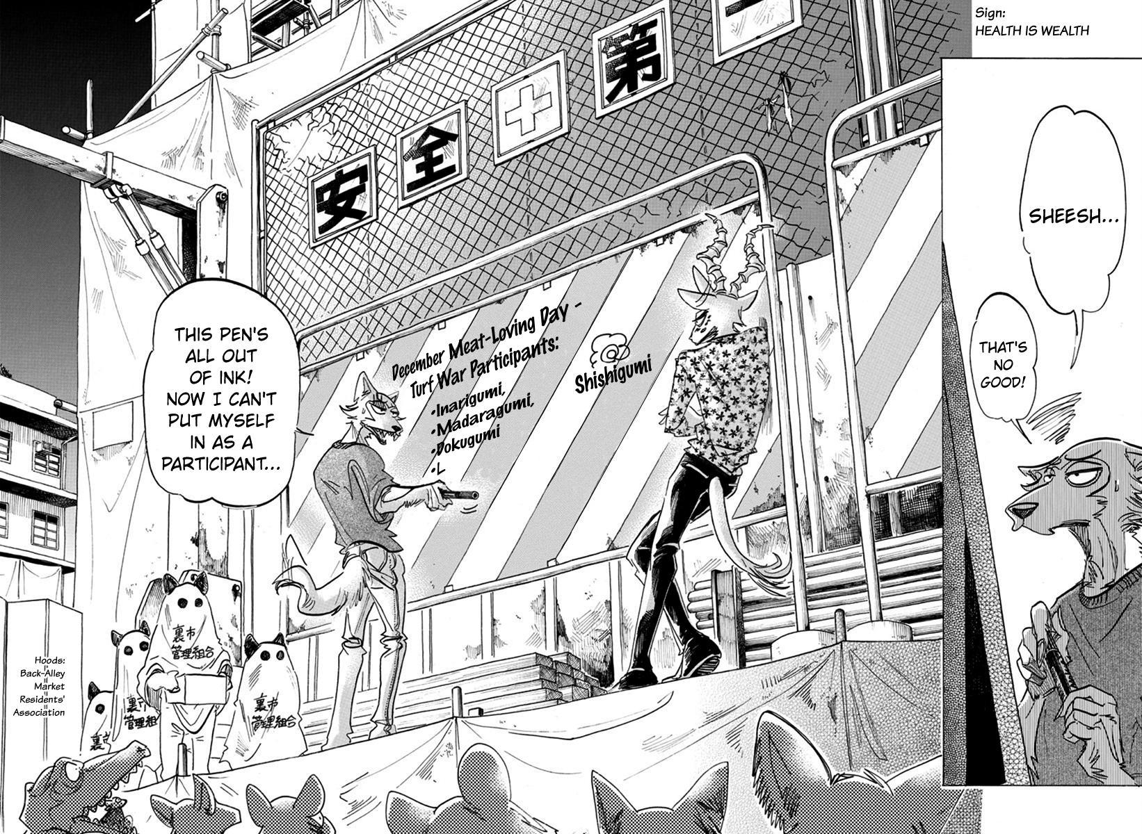 Beastars Manga, Chapter 167 image 011