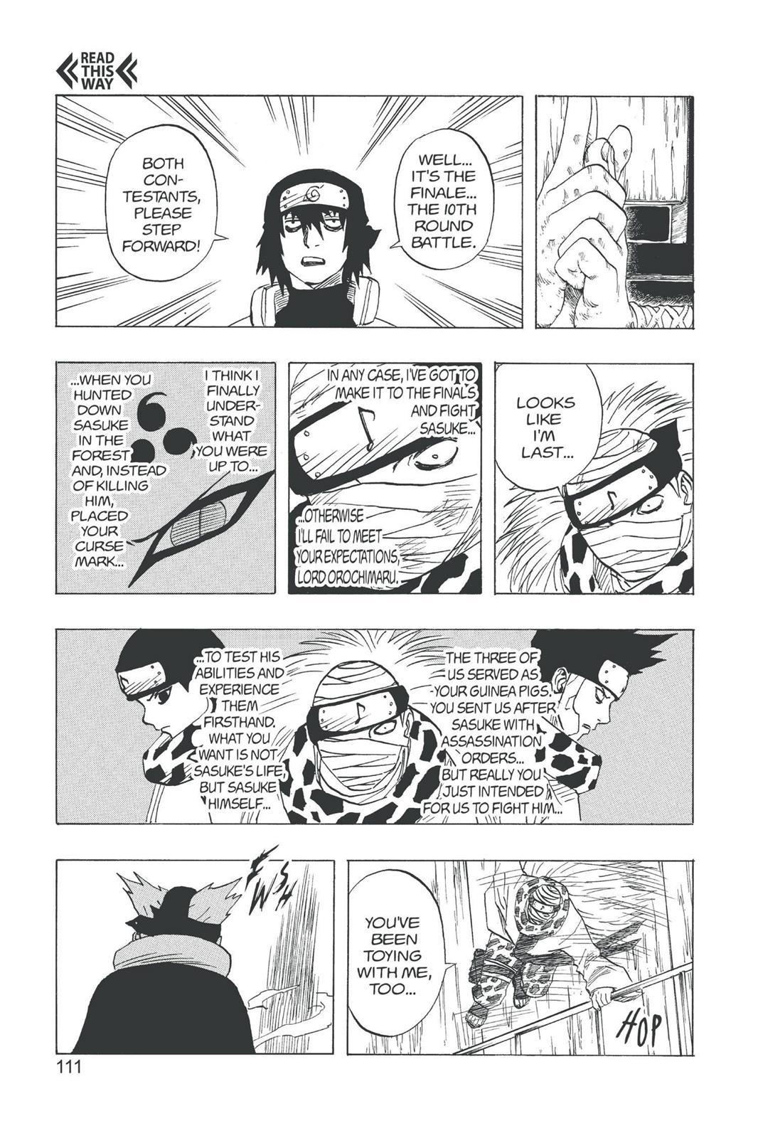 Naruto, Chapter 87 image 011