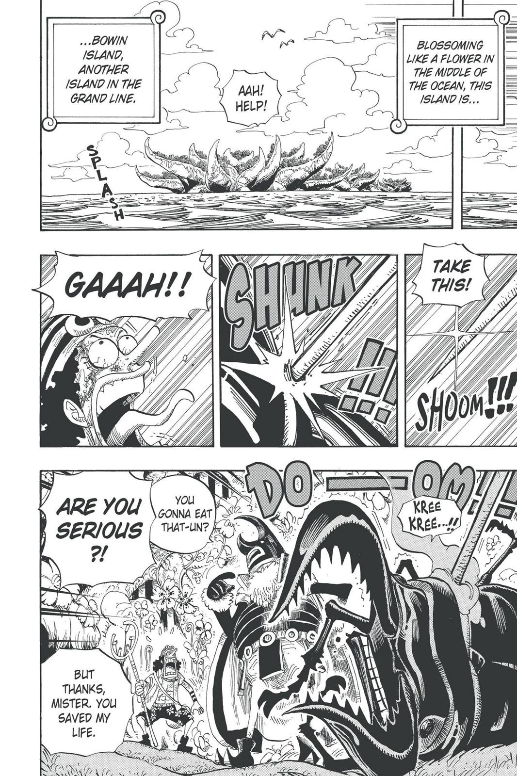 One Piece, Chapter 524 image 002