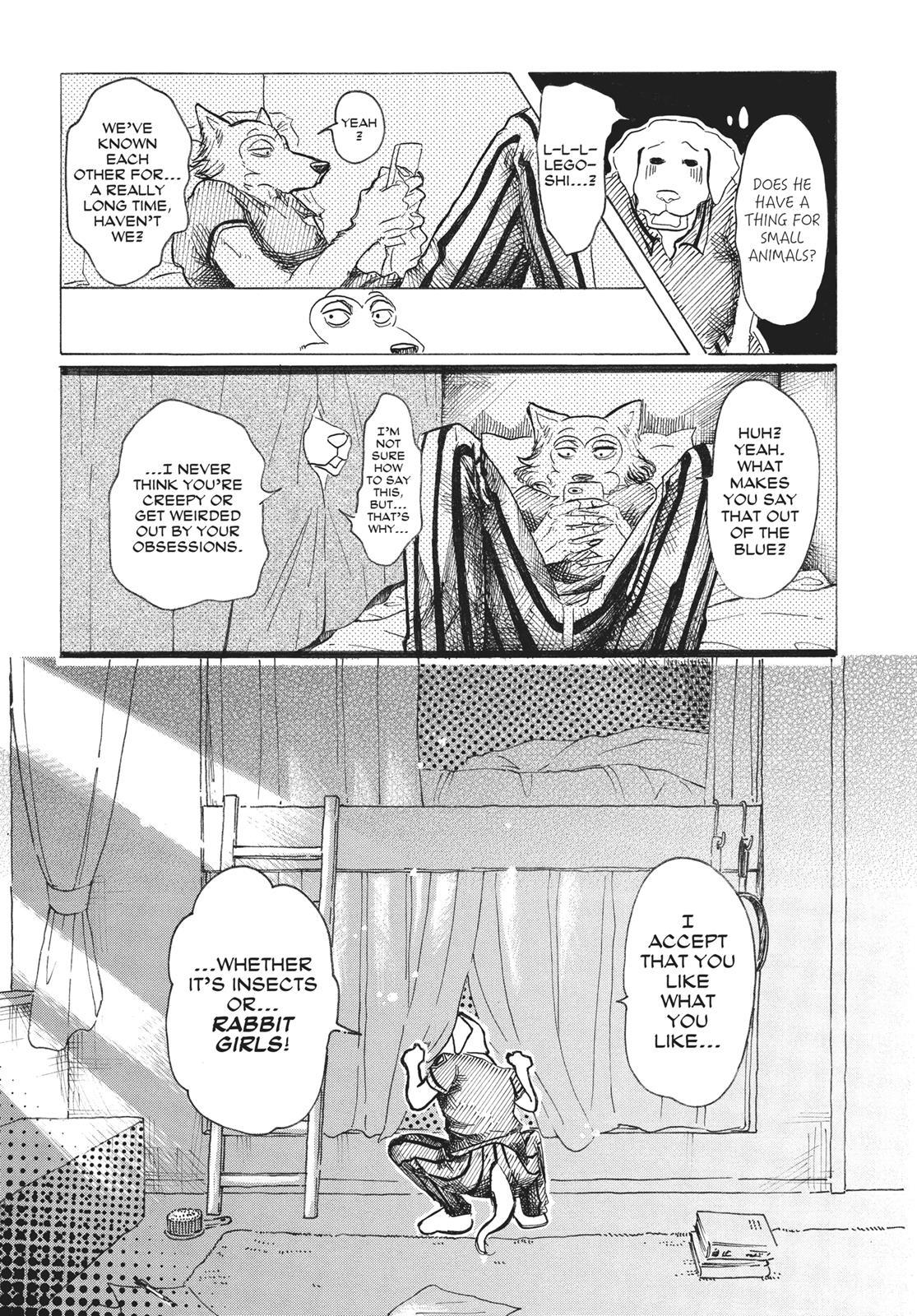 Beastars Manga, Chapter 28 image 006