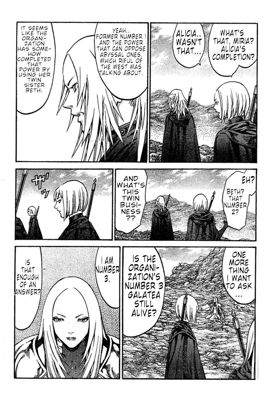 Claymore, Chapter 72 image 016