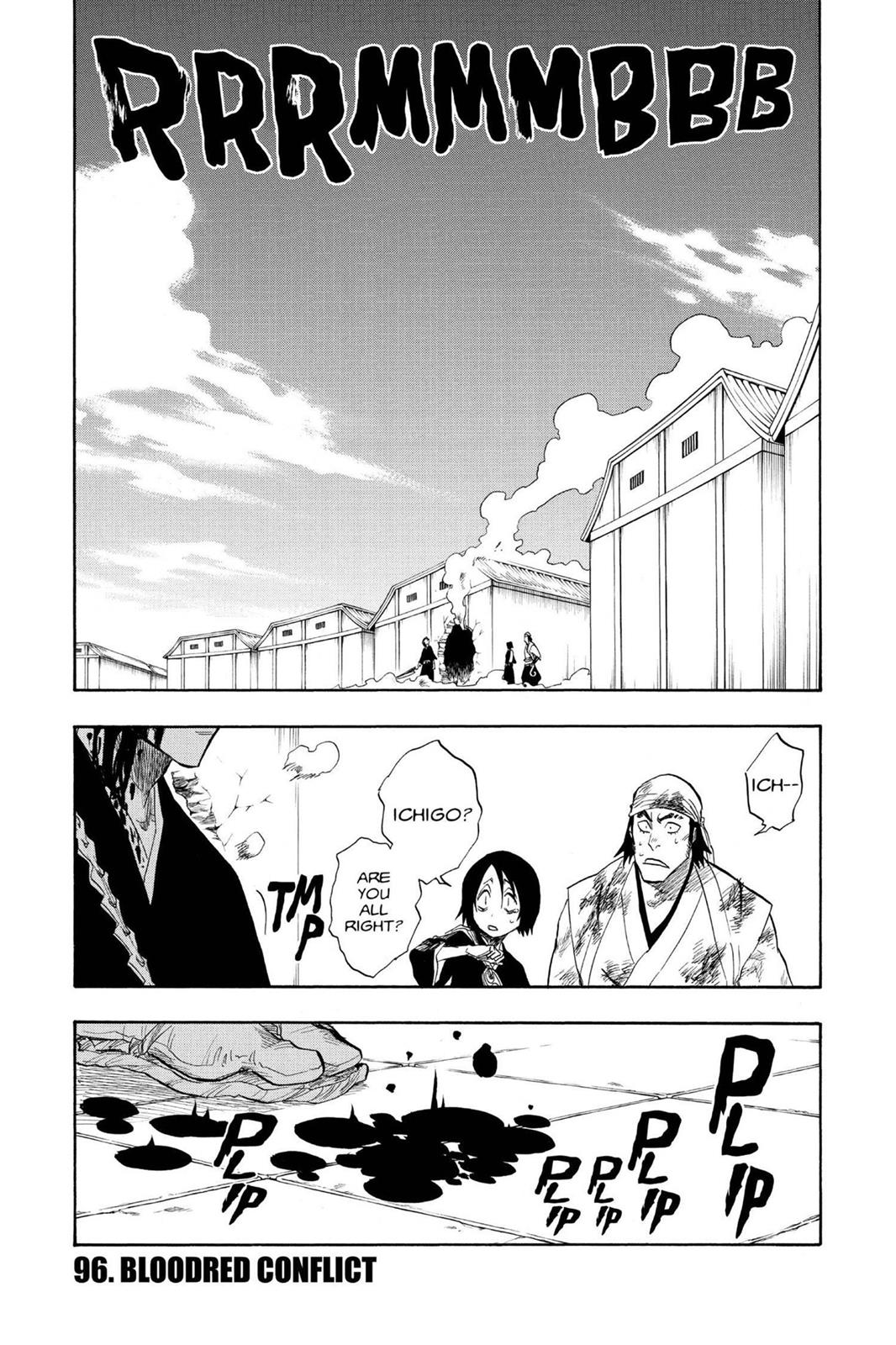Bleach, Chapter 96 image 001