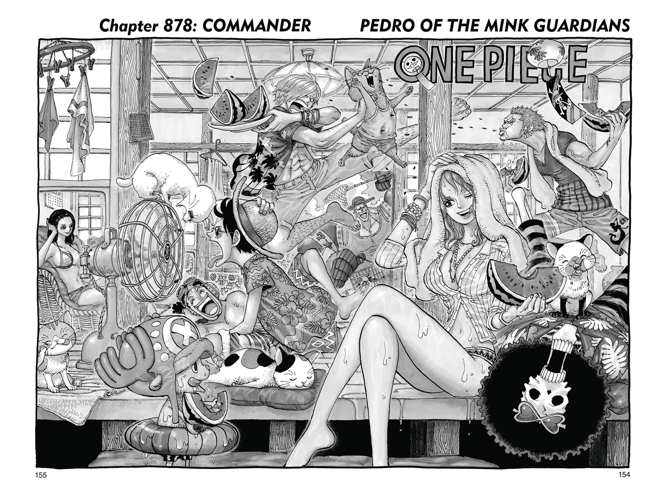 One Piece, Chapter 878 image 001