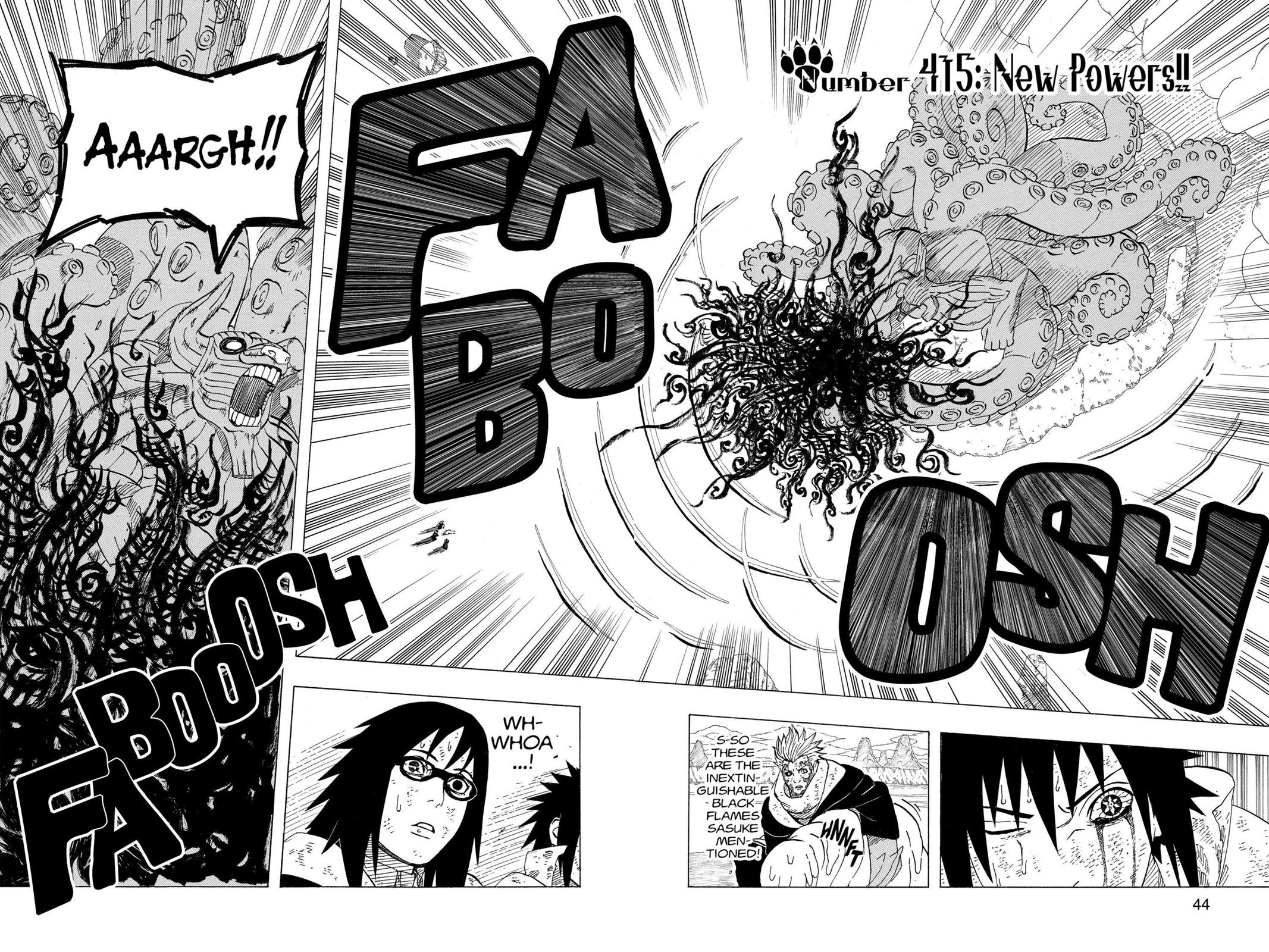 Naruto, Chapter 415 image 002