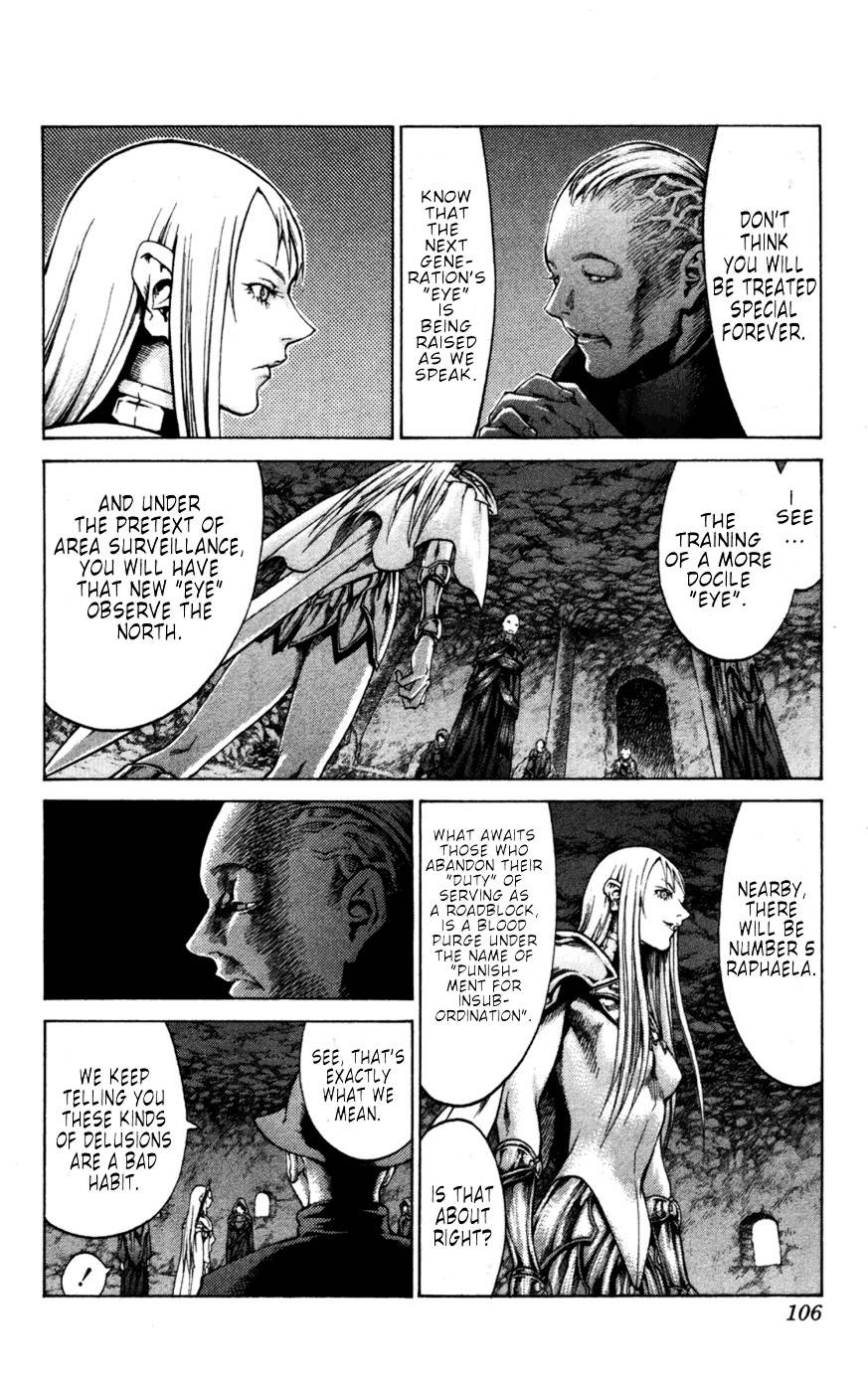 Claymore, Chapter 61 image 012