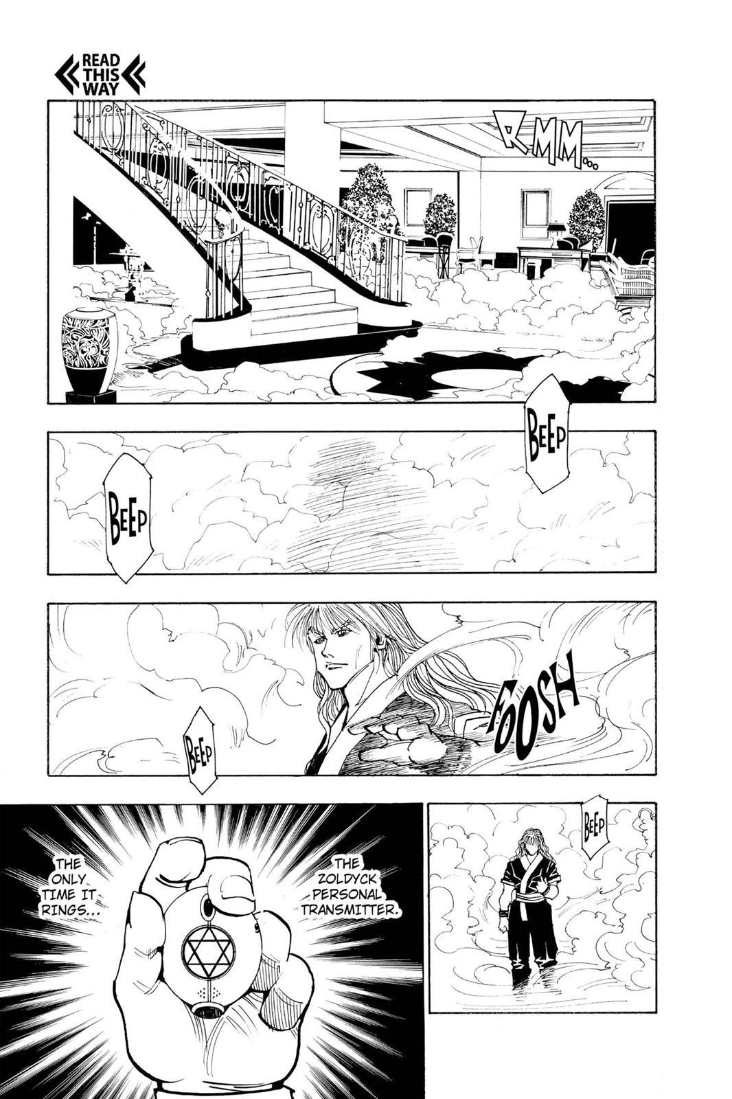 Hunter X Hunter, Chapter 100 image 007
