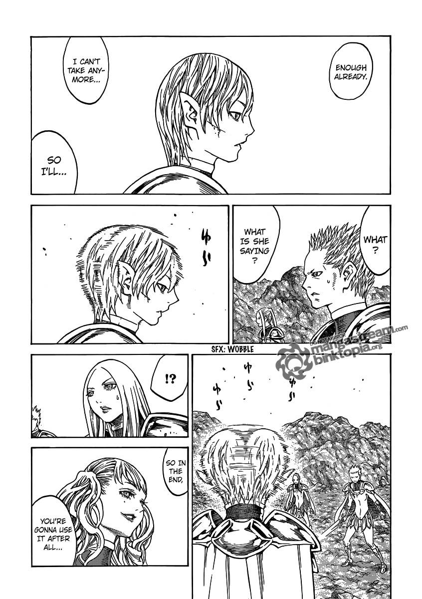 Claymore, Chapter 117 image 026