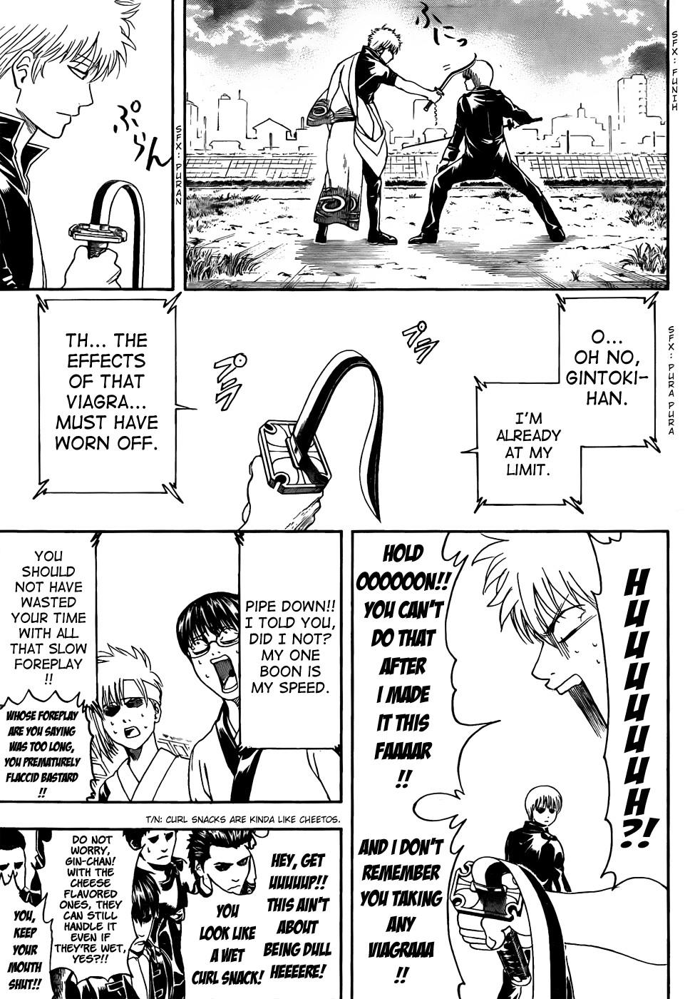 Gintama Chapter, 428 image 011