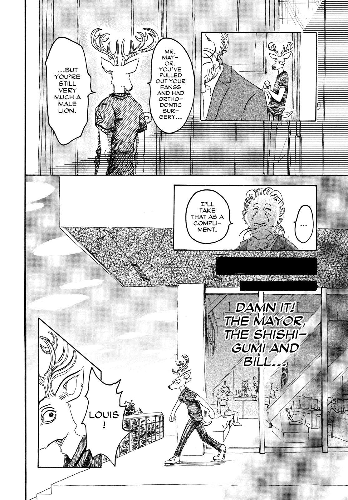 Beastars Manga, Chapter 36 image 008