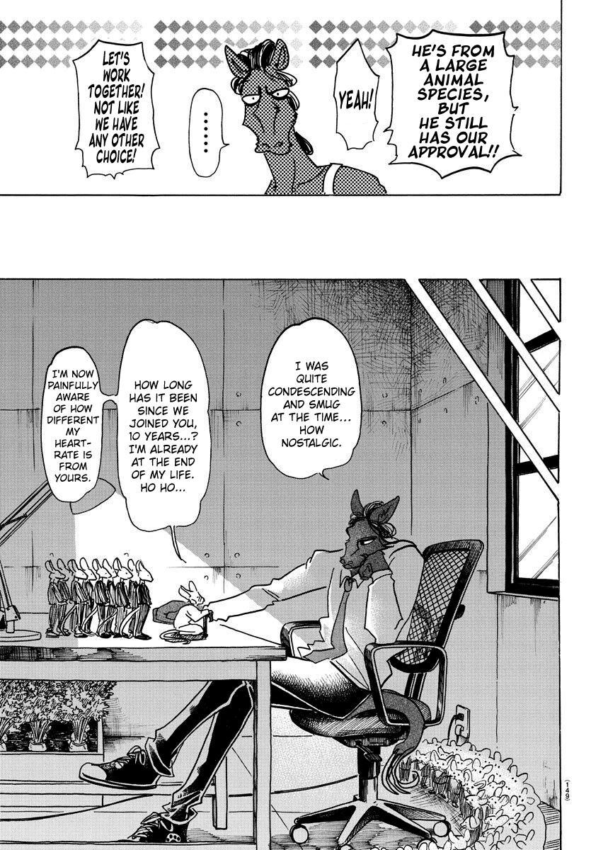 Beastars Manga, Chapter 138 image 016