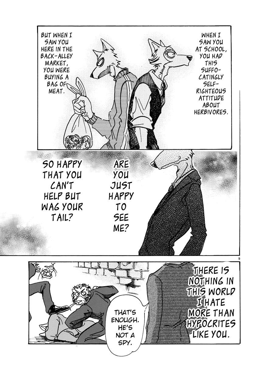 Beastars Manga, Chapter 75 image 008