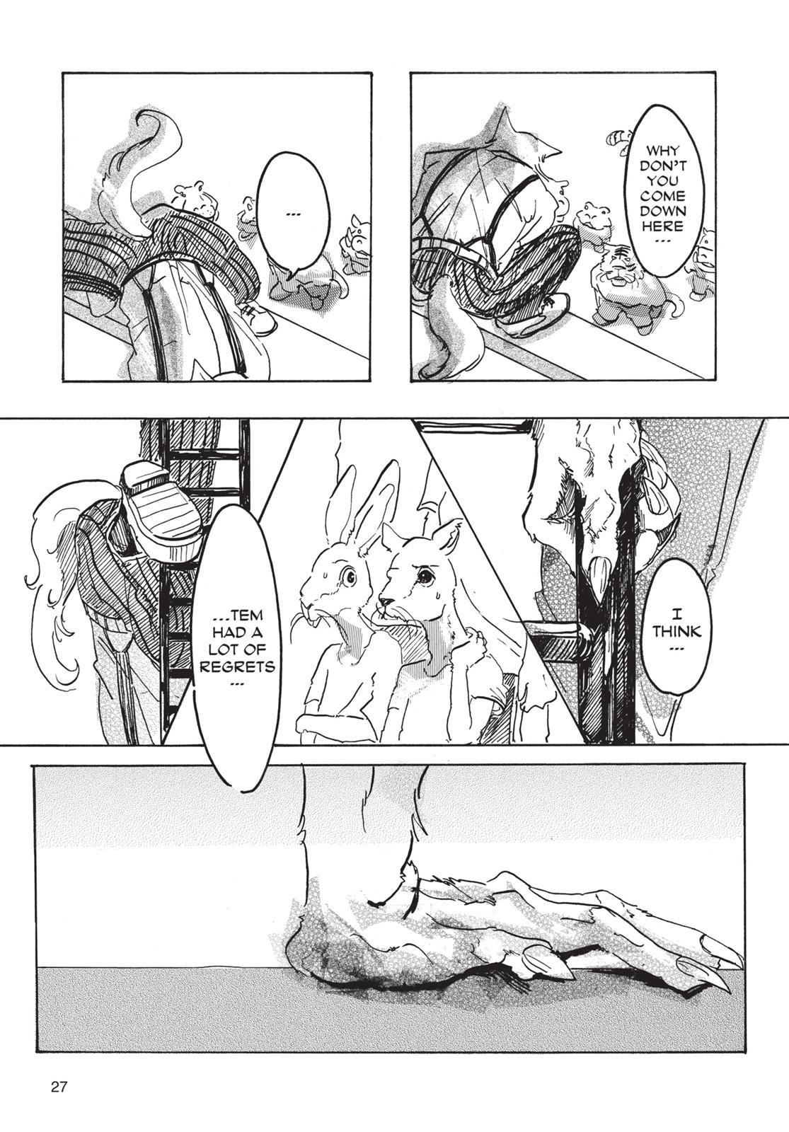 Beastars Manga, Chapter 1 image 026