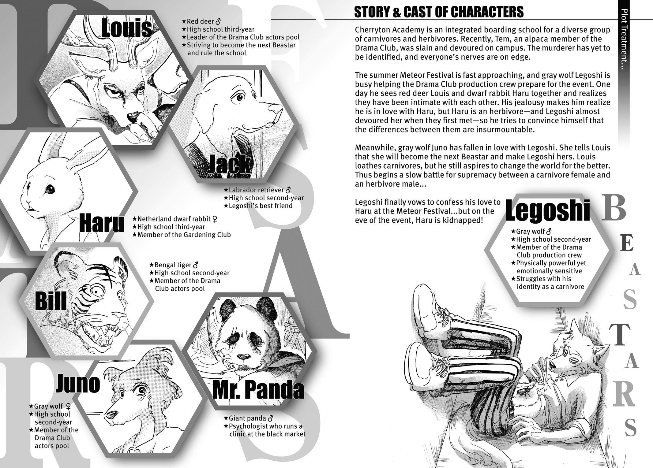 Beastars Manga, Chapter 35 image 003