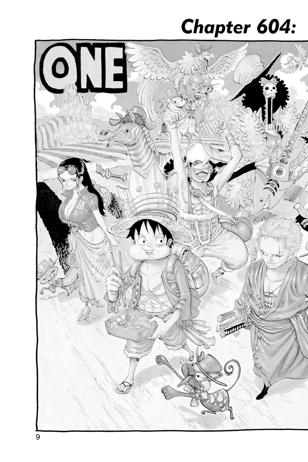 One Piece, Chapter 604 image 010