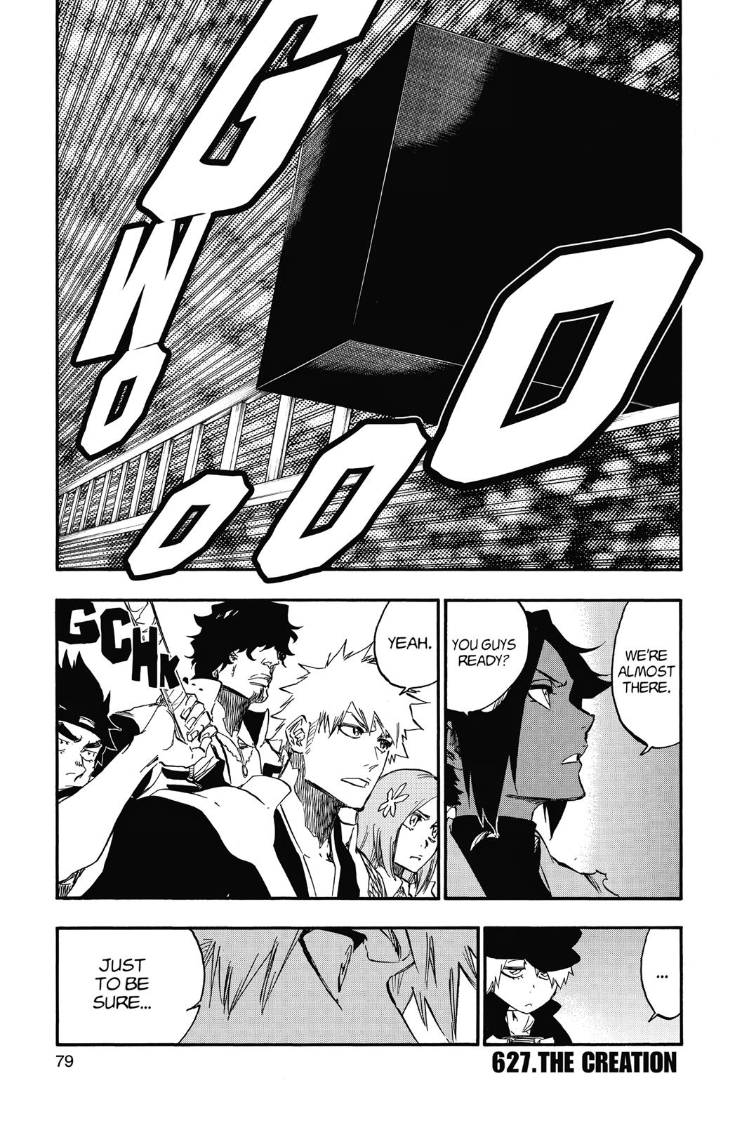 Bleach, Chapter 627 image 001