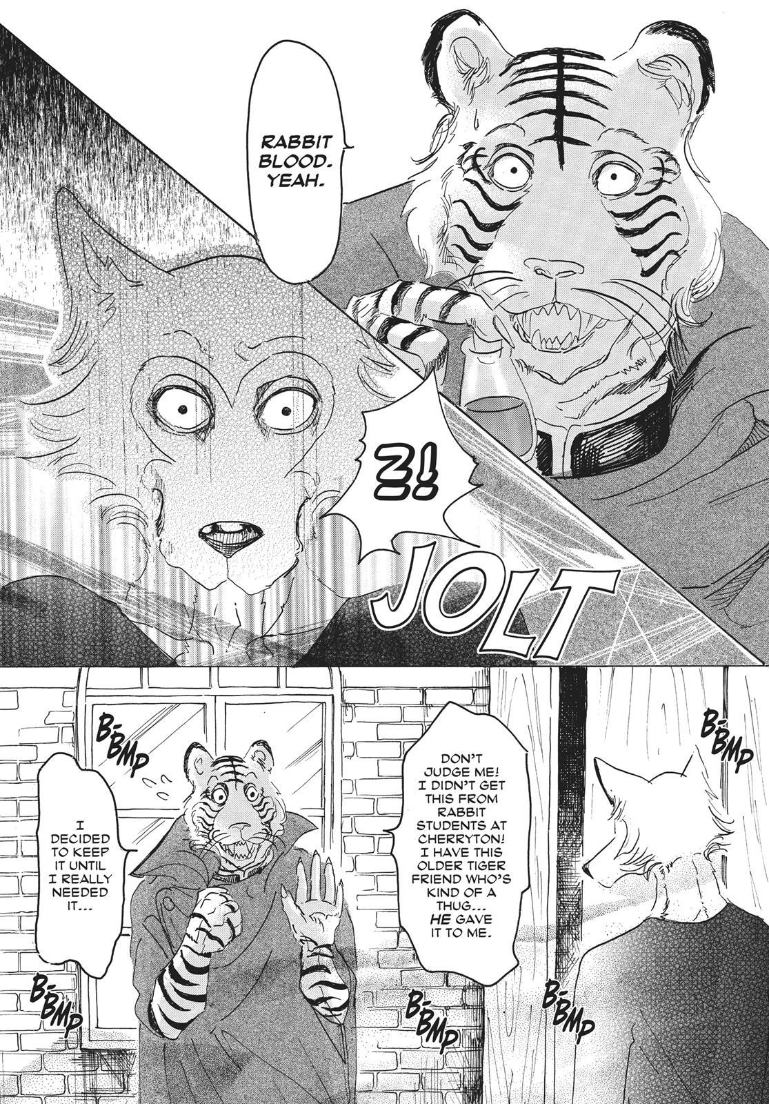 Beastars Manga, Chapter 14 image 016