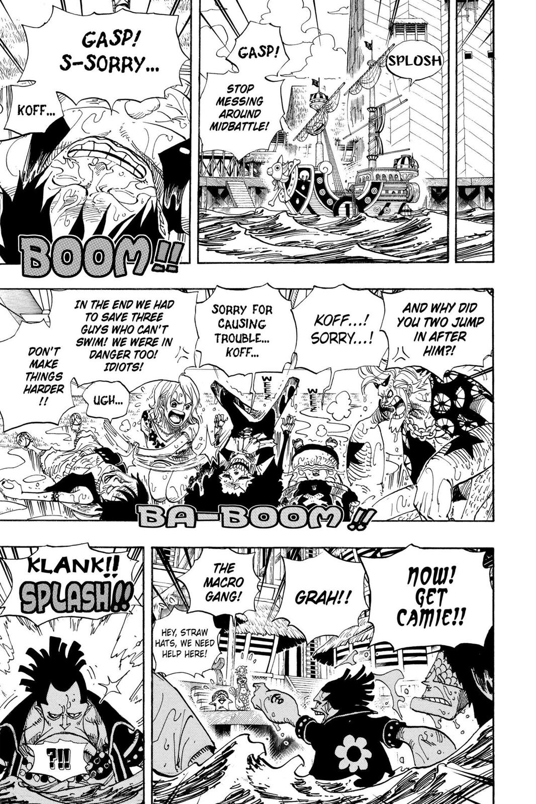One Piece, Chapter 493 image 007