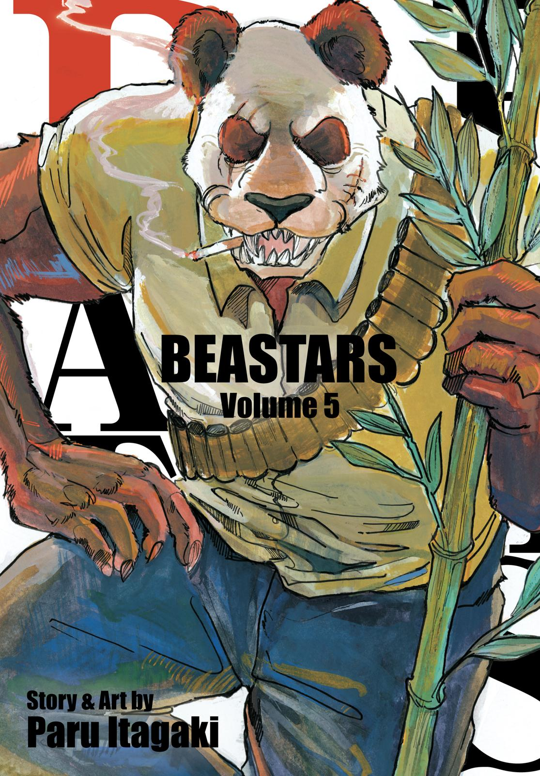 Beastars Manga, Chapter 35 image 001