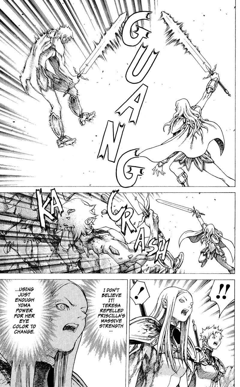 Claymore, Chapter 23 image 010