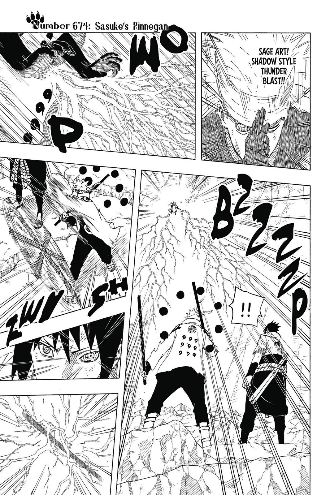 Naruto, Chapter 674 image 001
