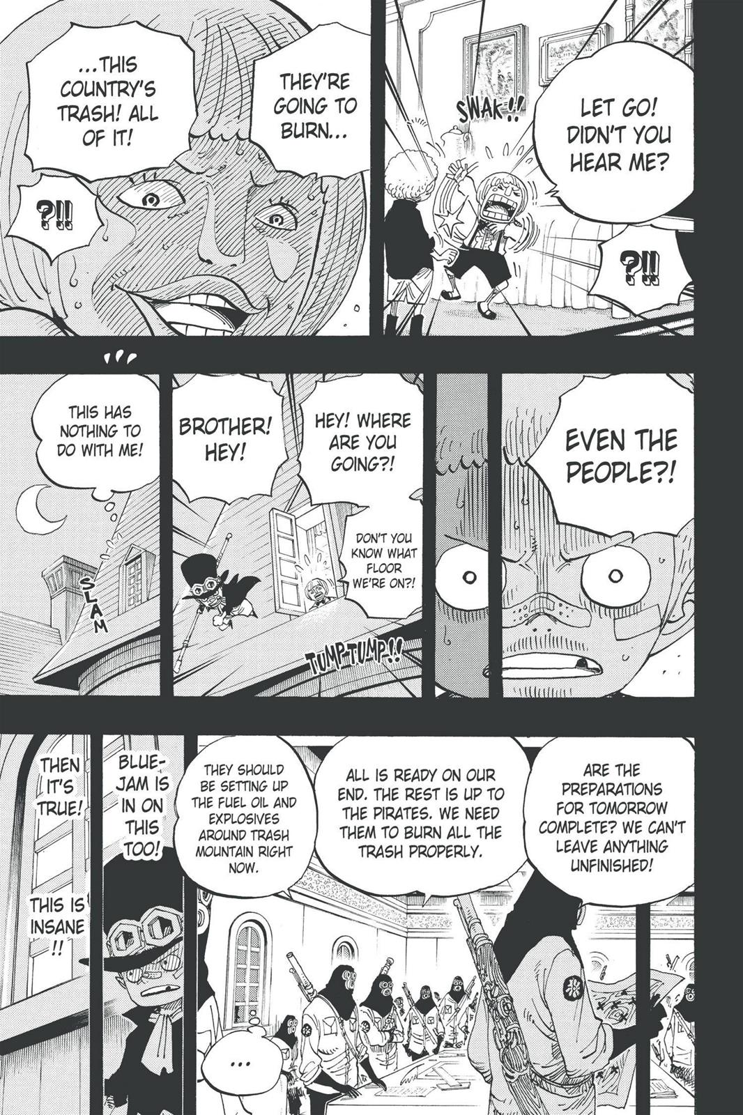 One Piece, Chapter 586 image 009