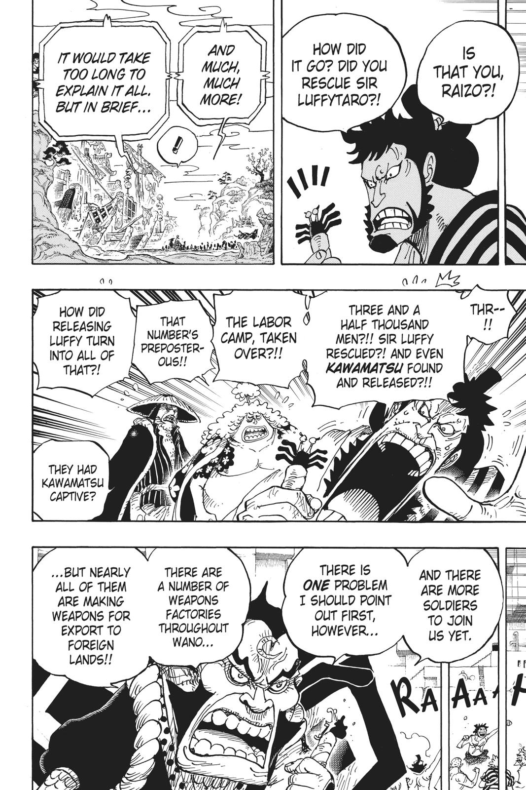 One Piece, Chapter 952 image 012