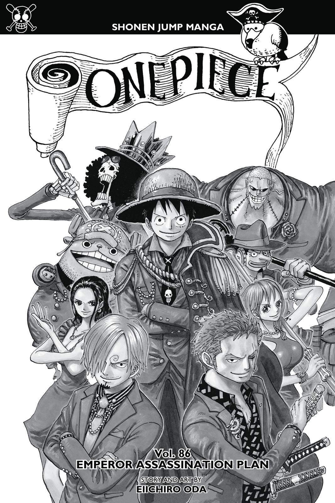 One Piece, Chapter 859 image 004