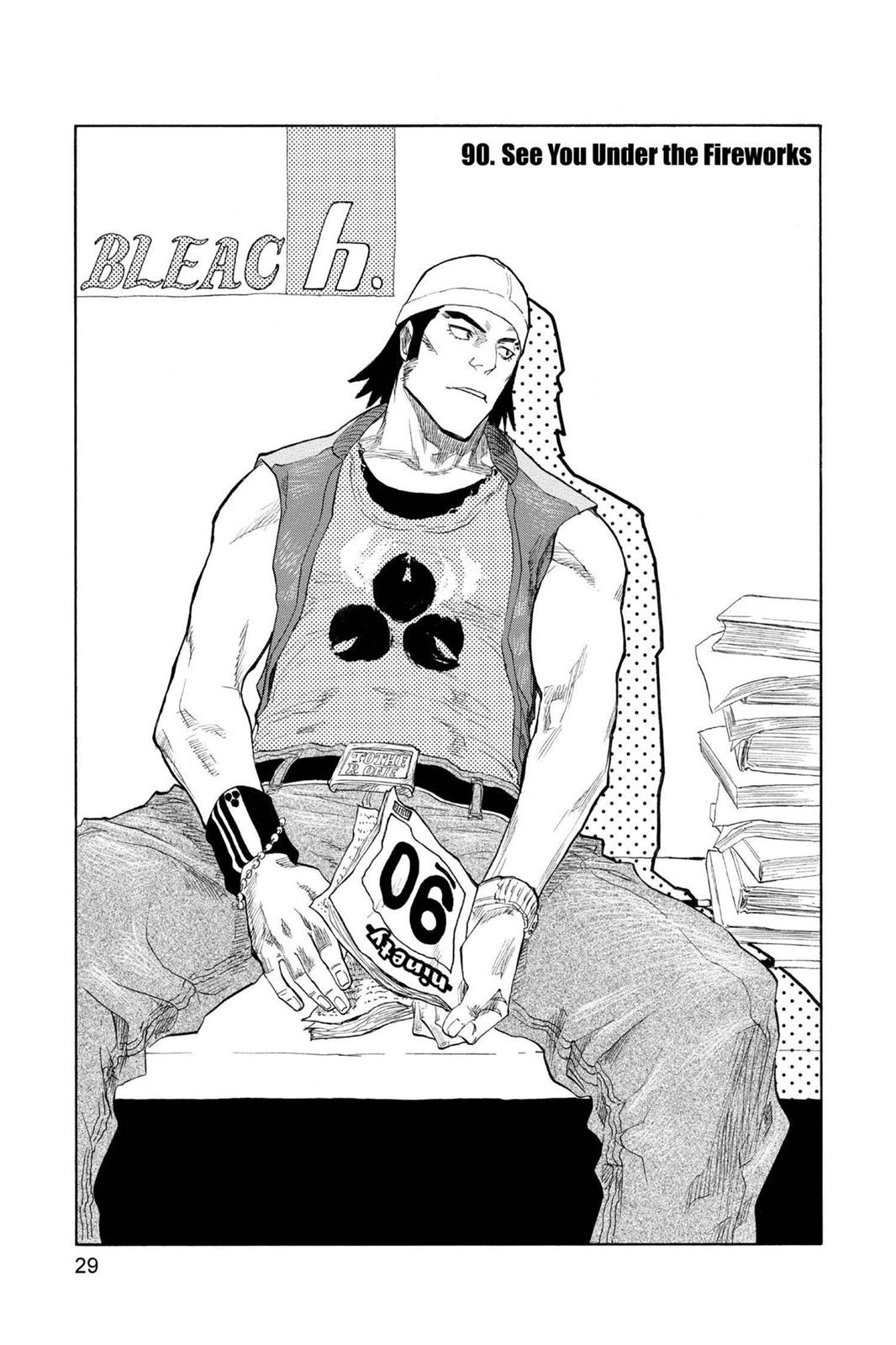 Bleach, Chapter 90 image 003