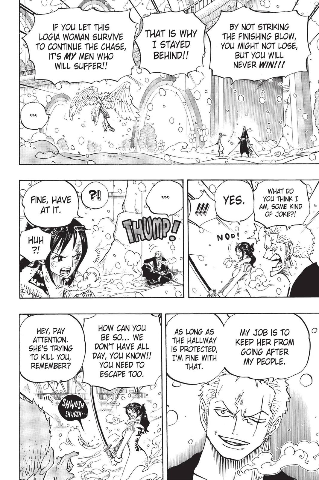 One Piece, Chapter 687 image 006