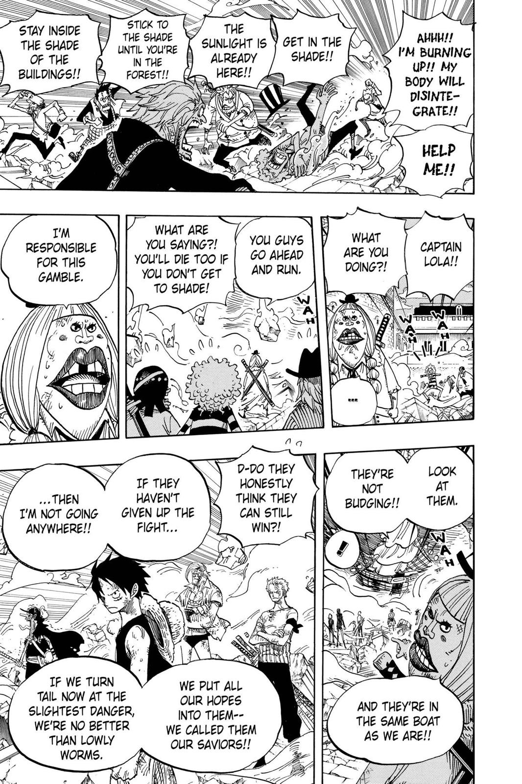 One Piece, Chapter 481 image 017