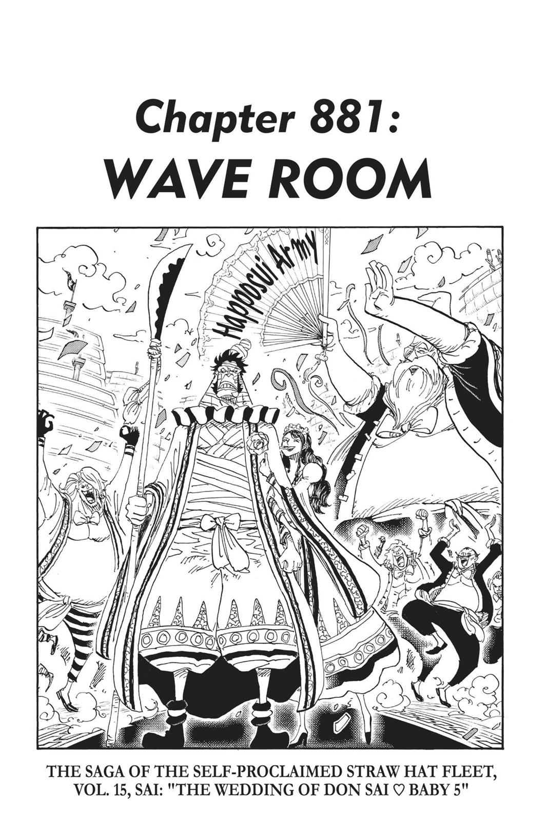 One Piece, Chapter 881 image 001