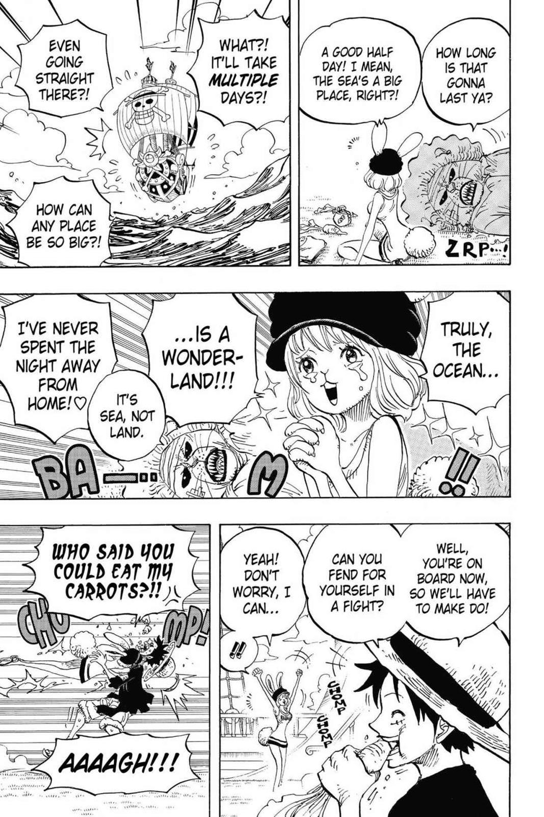 One Piece, Chapter 823 image 016