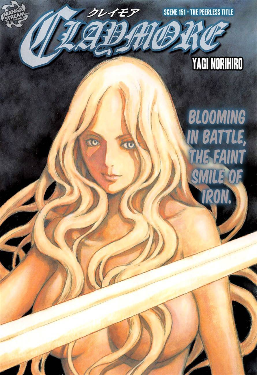 Claymore, Chapter 151 image 001