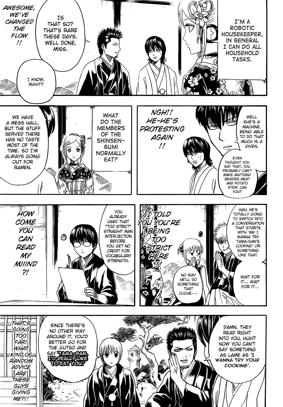 Gintama Chapter, 385 image 009