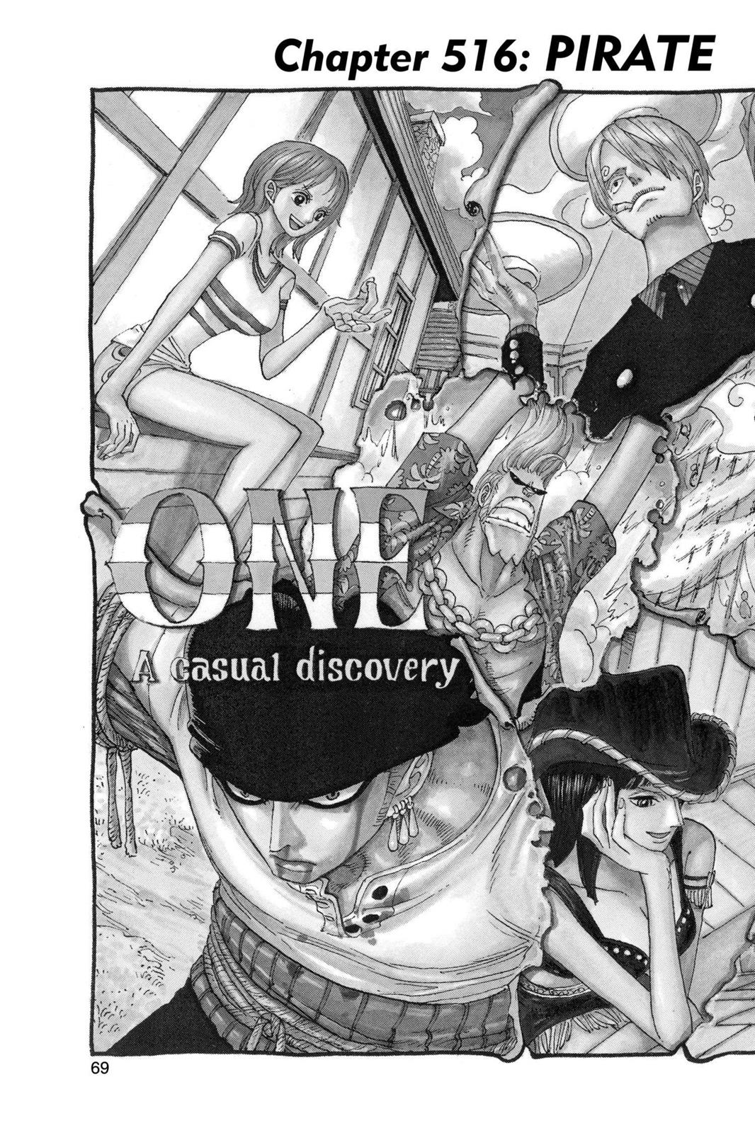 One Piece, Chapter 516 image 002